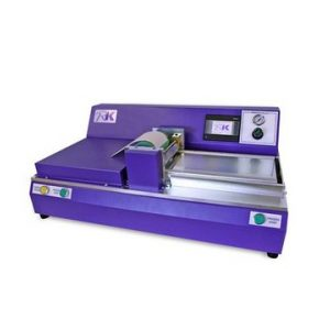 High-speed press-on instrument for gravure printing, laboratory press-on instrument