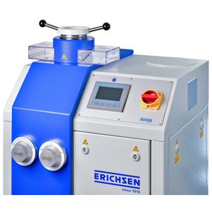 Sheet metal testing machine, with Erichsen cupping