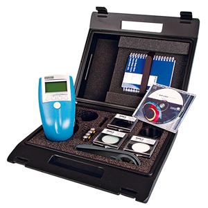 Spectrophotometer, precise colour representation using numerical values