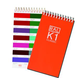 RAL Color charts